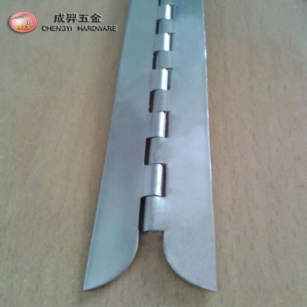 cabinet piano hinges with special design