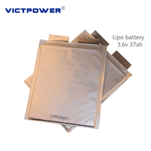 Rechargeable Lipo Batteries Battery 37ah 3.6v 72/212/269 3C-5C Lithium Polymer Battery For Electric Car
