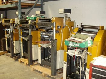 Used Ryobi/Itek Machines on SALE