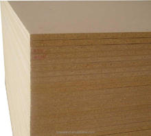 Medium Density Fibre panel / MDF with high quality for construction/Super eco-friendly 12mm poplar core pine timber mdf
