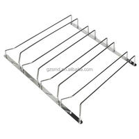 Wholesale Under Cabinet Wire Stainless Steel Hanging Wine Glass Rack