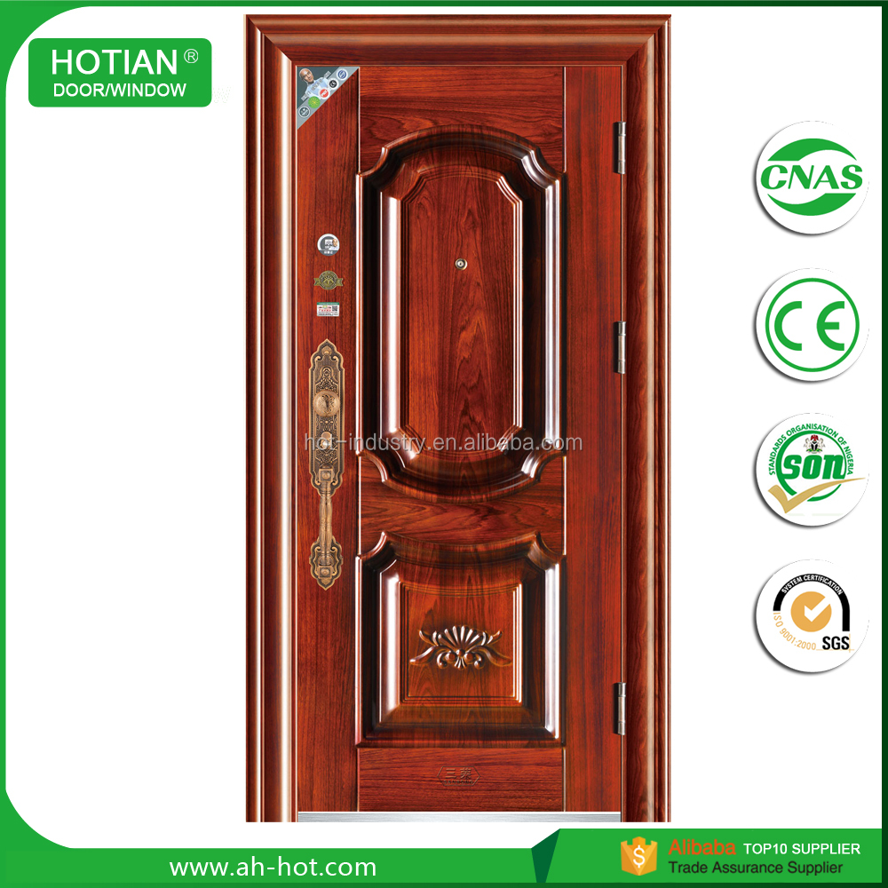 Manufacturer China Reasonable Price Safety Main Entry Exterior Door /Security Steel Door
