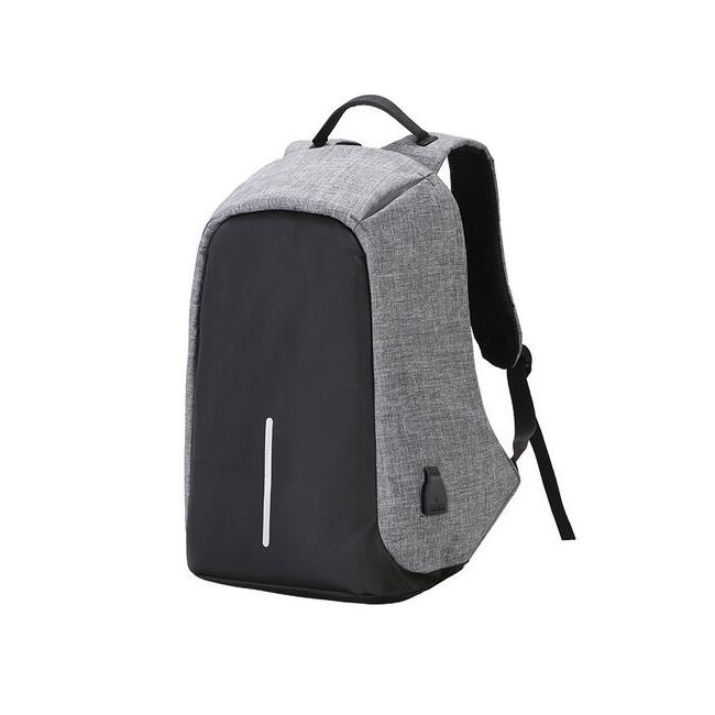 New Design Big Antitheft Backpack With USB Charging Port