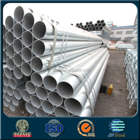 China supplier ASTM A53 A500 BS1387 Grade B carbon steel pipe with galvanized or oil in the surface made in CHINA