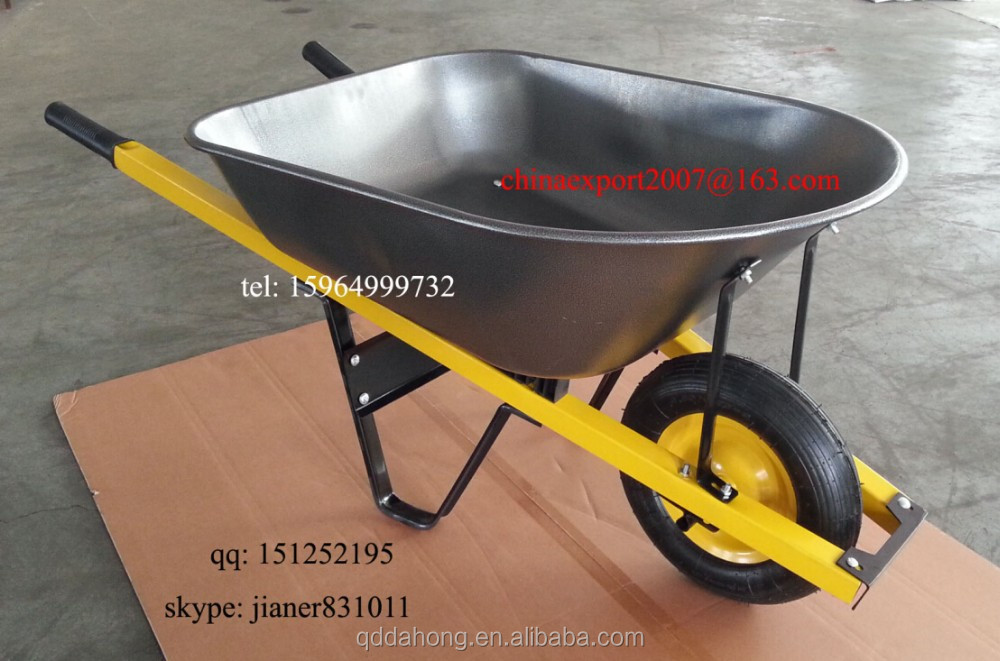 100L Big Capacity of Australia Popular Construction Wheelbarrow WB6001