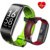 Bluetooth cicret wristband heart rate monitor with blood pressure monitros smart bracelet
