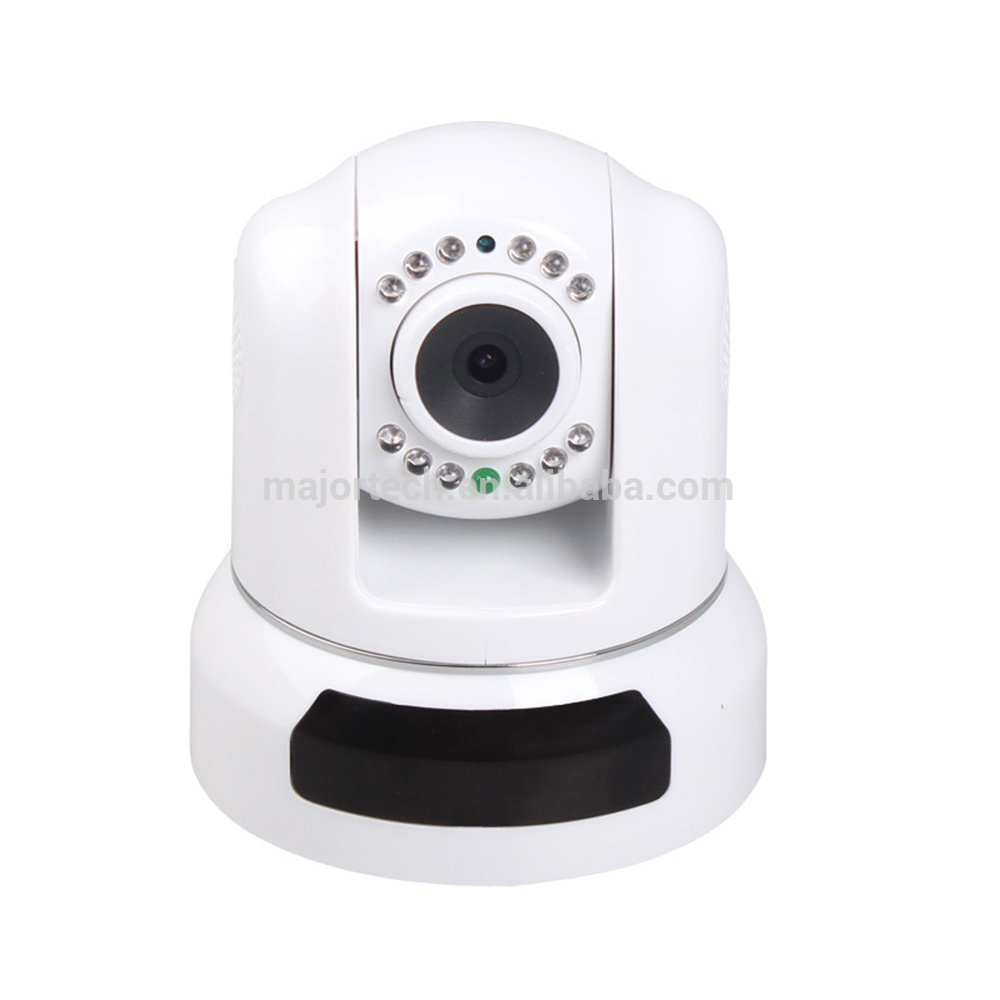 WPA Wireless WiFi IP Internet PTZ Dual Audio Vandal-proof Camera