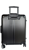 New coming vintage luggage sets Wheel Metal Aluminum Luggage Trolley , Leisure International Luggage