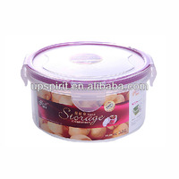 Commonly used for vegetable and grain storing 280ml capacity food storage container sets