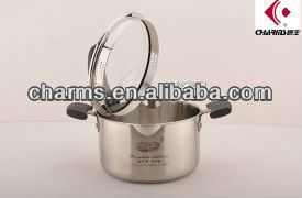 High Quality Charms Stainless Steel Induction thermal hot pot stock pot