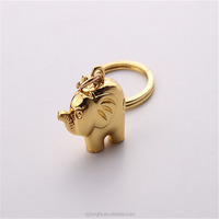Cute Pet Keychain Elephant Key Rings Gift Hot sale portachiavi lovely anime jewelry hot sale african jewelry