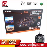 WL TOYS RC Aircraft Carrier Land Sea and Air 3 in 1 mode WL Q202 RC Drones 2.4G 4CH With Led Light