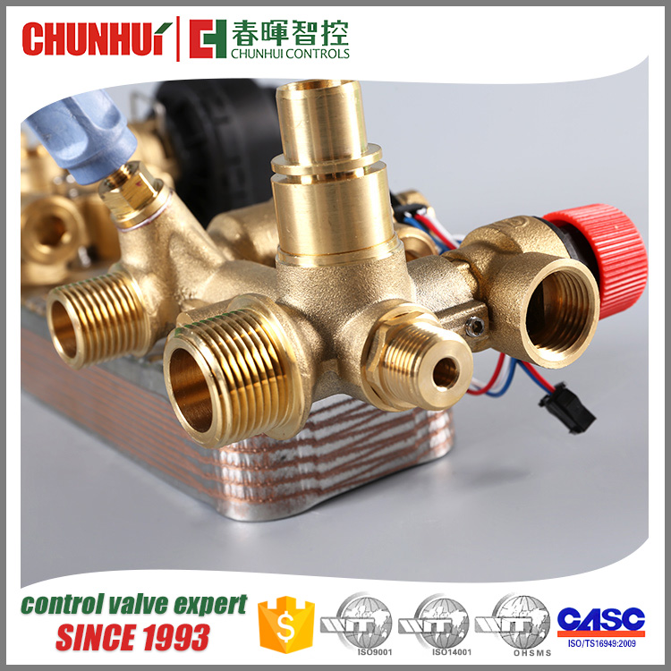 gas boiler part brass hydraulic valve parts, control valve hydraulic BH-04