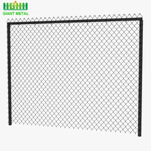 Hot Dip Galvanized Diamond wire mesh Used Chain Link Fence For Sale