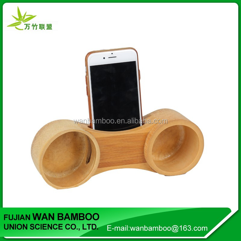 Hot Sale Fashionable Bamboo Beach Chair Cell Phone Holder