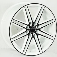 eight spokes car alloy wheels new style car rims