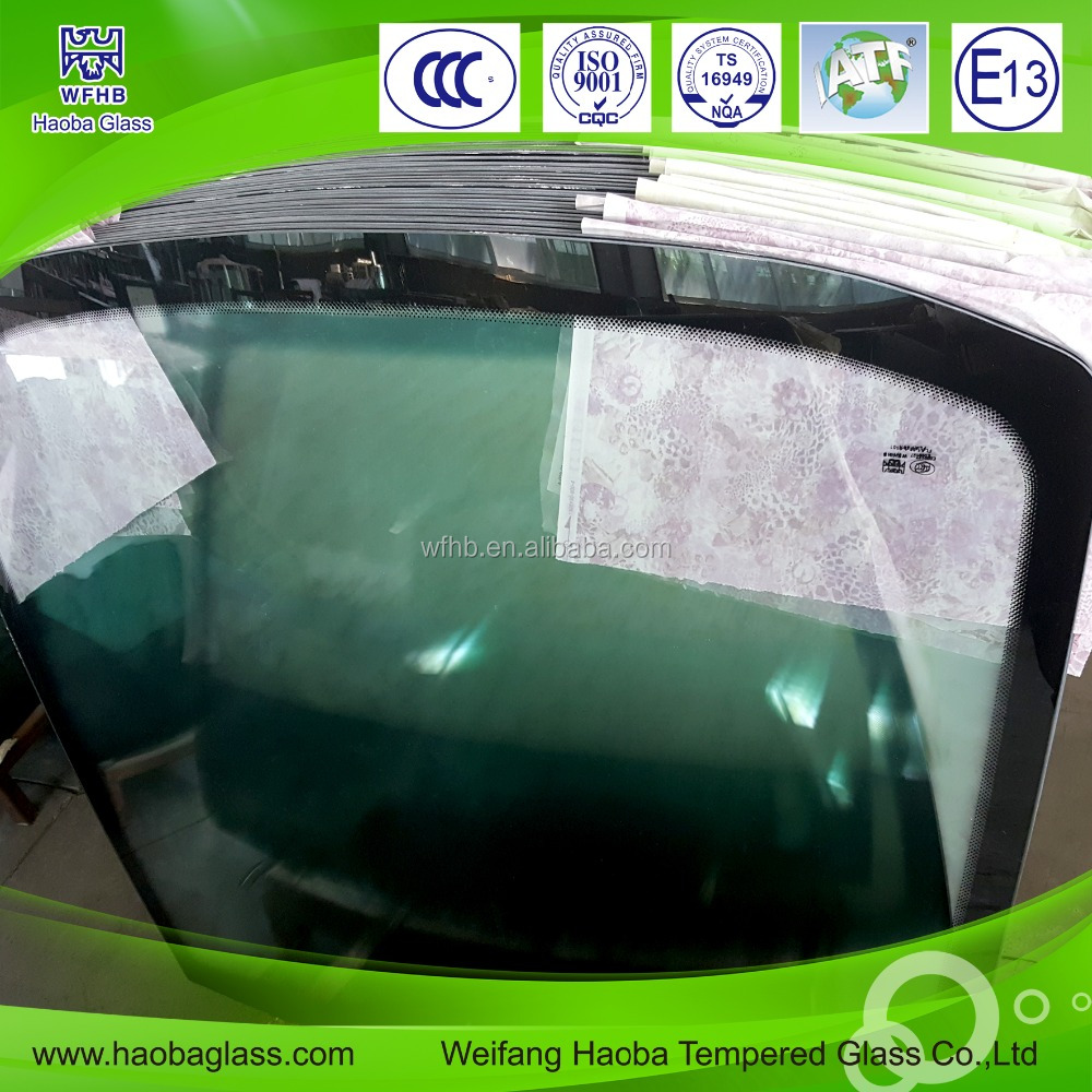 Electric car glass