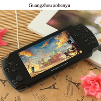 8GB 4.3 inch LCD Screen Handheld Game MP4 MP5 Players Games Console free games ebook/FM/1.3 MP Camera headset game player