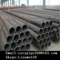 Black Grade B Seamless steel pipe for building material