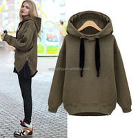 Best Selling Wholesale Women Thick Fleece Pullover Hoodies
