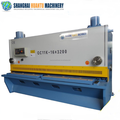 Europe standard Aluminum guillotine shearing machine cnc guillotine, steel plate cutting machine