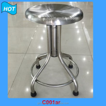 Used School Furniture School Lab Furniture Library Furniture Stainless Steel Chair Stool for Sale