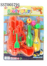 Funny Soft Air Guns, Bowling gun with water gun toy