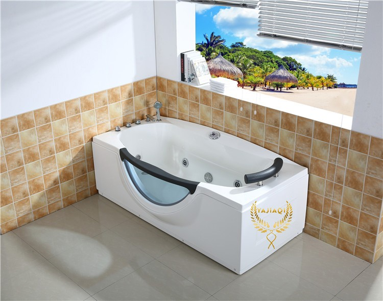 Bathtub massage with brass faucet