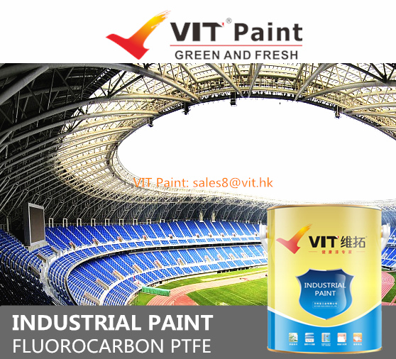 VIT Intumescent paint for steelwork, spray applied fire resistive material, fire retardant paint for steel