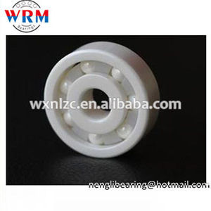 ZrO2 PTFE cage full ceramic ball bearings 608