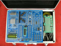 Educational electronics trainer Teaching equipment Microcontroller training kit XK-KDF2 Microcontroller Trainer
