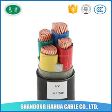 Low Voltage PVC Insulated Copper VV Energy Cable