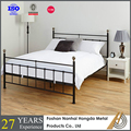 modern steel bed frame design