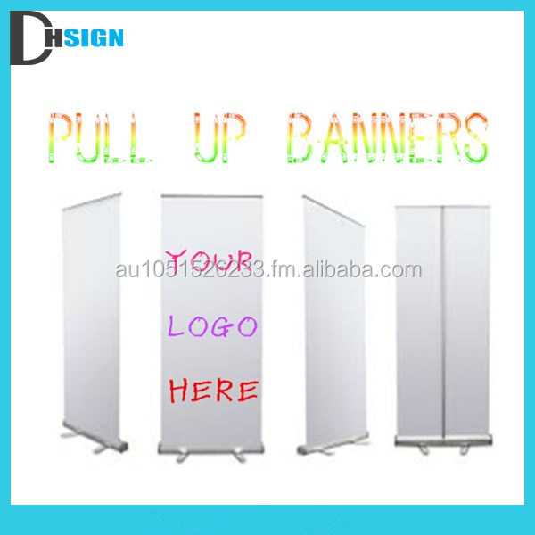 Customized roll up stand pull up stand for advertising