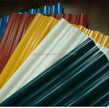 perforated astm pre-painted corrugated color roofing metal panels