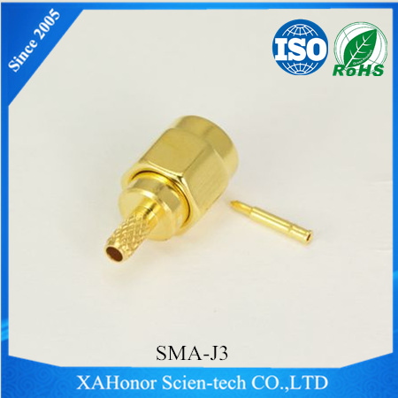 2017 factory price sma attenuator 6 db for RG174/188/316 cable