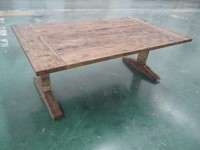 European style fashion modern solid wood antique table