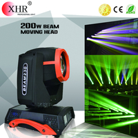 Double rotation rainbow effect beam 200w ,gobo projector spot led moving sharpy beam light