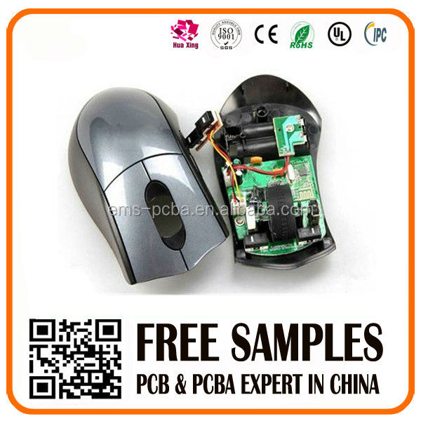 High Quality oem computer mouse pcb circuit board