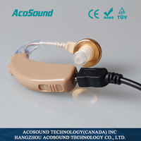 China AcoSound AcoMate Recharger CE TUV ISO Proved Cheap china analogue rechargeable hearing aids