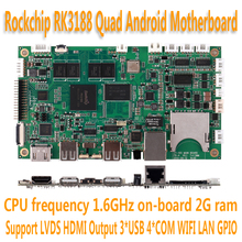 Rockchip RK3188 Quad Core Processor ARM motherboard