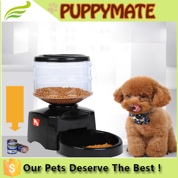 2015 New 10.6L large capacity automatic pet feeder auto dog feeder