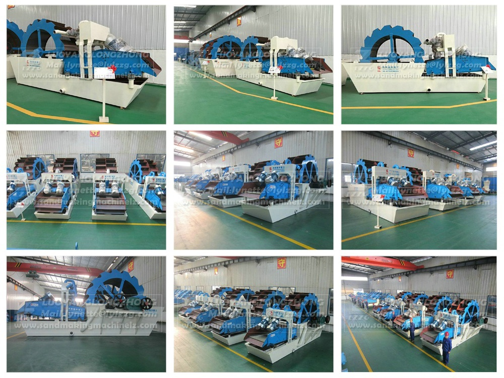 new function fine minerals washing equipment from china