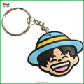 3D not-toxic PVC helmet keychain for fashionable gifts