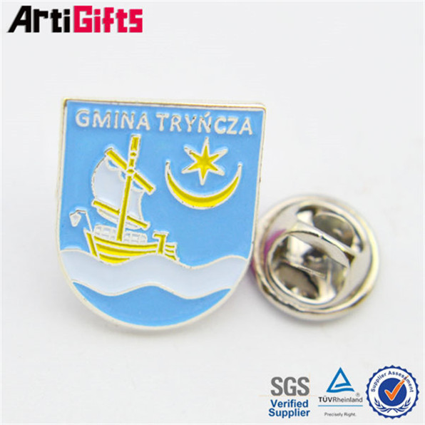 New product metal pins company logo
