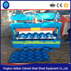 Made in China Steel Colored Step Glazed Roof Tiles Machine