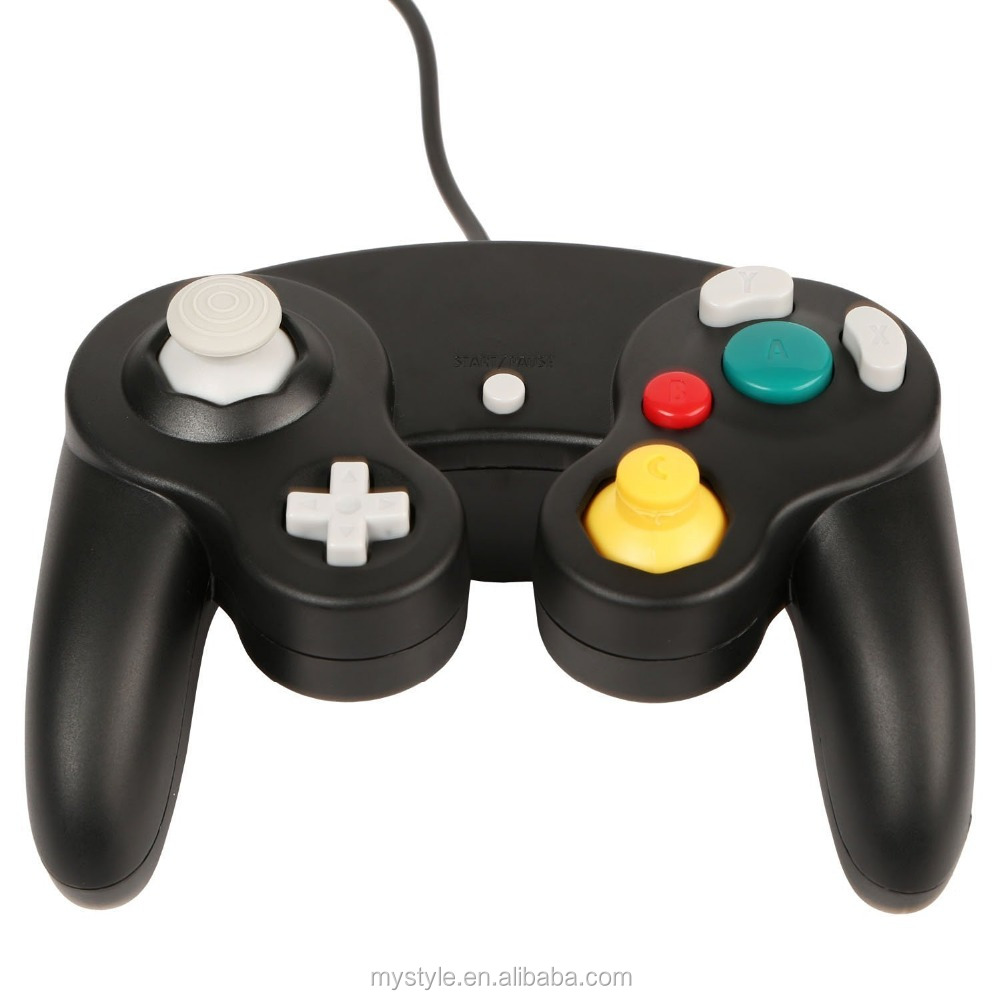 Classic Wired Joypad Game Stick Pad Controller for Nintendo Wii Gamecube NGC Gc