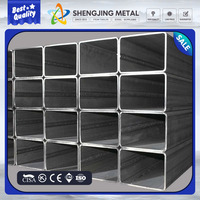 Online product selling websites rectangular steel q195 hot dipped galvanized square steel pipe