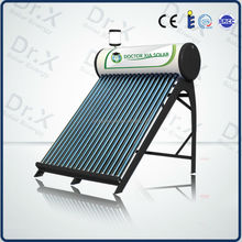 high efficiency homemade best selling compact preheating solar hot water heater
