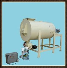 Dry mortar mixer dry mortar double shaft paddle mixer